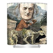 Sir Richard Owen (1804-1892) Shower Curtain