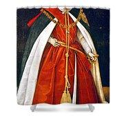Sir Robert Devereux (1566-1601) Shower Curtain