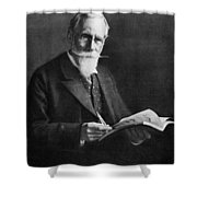 Sir William Crookes (1832-1919) Shower Curtain
