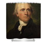 Sir William Grant Shower Curtain by Thomas Lawrence