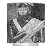 Sir William Wallace (1272?-1305) Shower Curtain