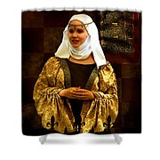 Maid Marian - Sire I Kan Not Quod She Shower Curtain