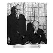 Sirs William And Lawrence Bragg Shower Curtain
