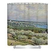 Sisley Saint-germain, 1875 Shower Curtain