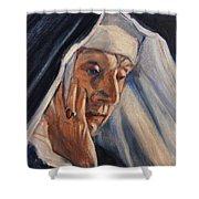 Sister Ann Shower Curtain