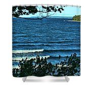 Sister Bay Wi Shower Curtain