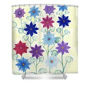 Sister Bloom Shower Curtain