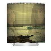 Sisters Forever Shower Curtain