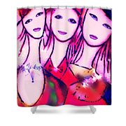 Sisters T Shower Curtain