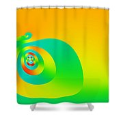 Sisyphus Shower Curtain