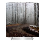 Sit And Enjoy The Nature Shower Curtain