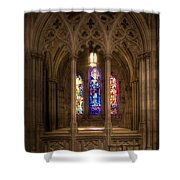 Sit And Reflect Shower Curtain