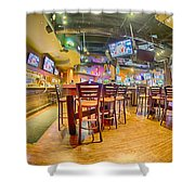 Sitting Area Inside Of A Tavern Bar Restaurant Shower Curtain
