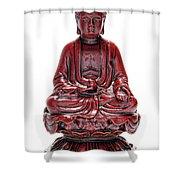Sitting Buddha  Shower Curtain
