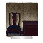 Sitting Room At Dusk Shower Curtain
