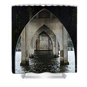 Siuslaw River Bridge Florence Oregon Shower Curtain