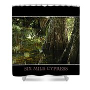 Six Mile Cypress Fort Myers Florida Shower Curtain