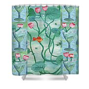 Six Of Cups Shower Curtain