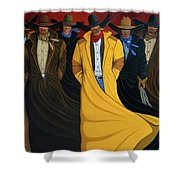 Six Pac Shower Curtain