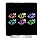 Shades Of Contentment Shower Curtain