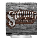 Sixpoint Brewery Shower Curtain