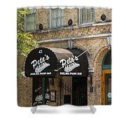 Austin Sixth Street Dueling Piano Bar Shower Curtain