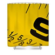 Size Matters Shower Curtain
