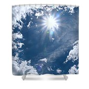 Sizzle Summer Shower Curtain