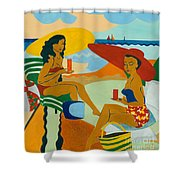 Sizzling Summer Shower Curtain