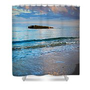 Skagen Light Shower Curtain by Inge Johnsson