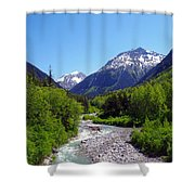 Skagway 5 Shower Curtain