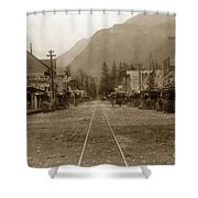 Skagway Alaska H. C. Bailey Photographer June 15 1898 Shower Curtain