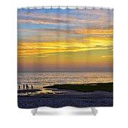 Skaket Beach Sunset 5 Shower Curtain