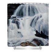 Skalkaho Waterfall Shower Curtain