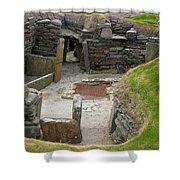 Skara Brae Dwelling Shower Curtain