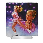 Skaters Dream Shower Curtain
