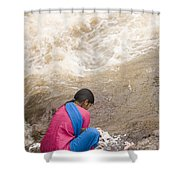 Skc 2616 Clothes Washing Source Shower Curtain