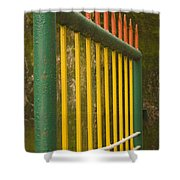 Skc 3266 Colorful Gate Shower Curtain