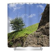 Skc 3559 Conditions In Contrast Shower Curtain