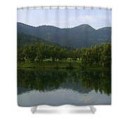 Skc 3956 Nature's Way Of Admiration Shower Curtain
