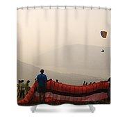 Skc 4630 Flying Festival Shower Curtain