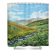 Skiddaw And Little Man Shower Curtain