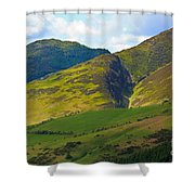 Skiddaw In The Lake District Shower Curtain