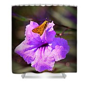 Skip It Insect Art Shower Curtain