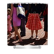 Skirts And Pooches On Capitol Hill Shower Curtain