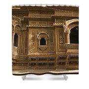 Skn 1310 Elegant Architecture  Shower Curtain
