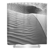 Skn 1415 The Flow Of Ripples Shower Curtain