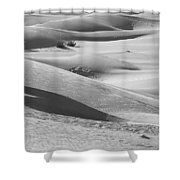 Skn 1432 Slopes And Curves Shower Curtain
