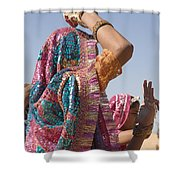 Skn 1544 Dressed To Dance Shower Curtain