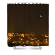 Skn 1762 Fort At A Distance Shower Curtain